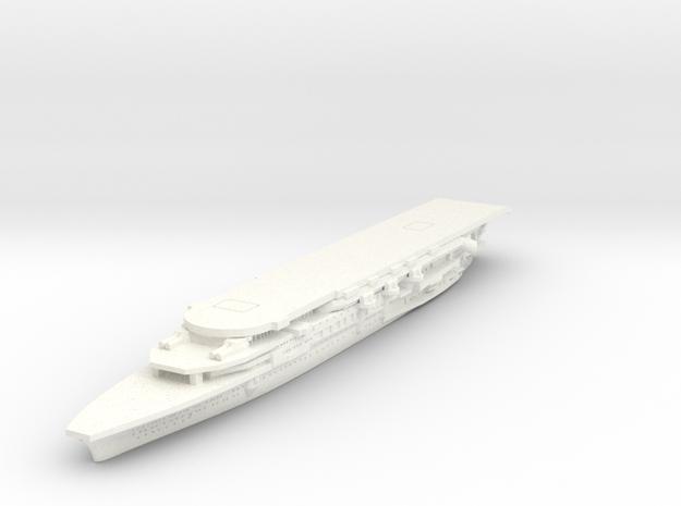 1/1800 IJN Kaga 1930 in White Processed Versatile Plastic