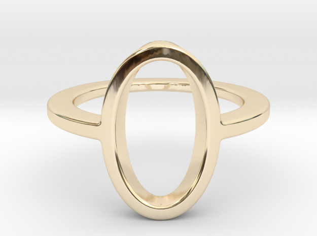 Oval Ring -size 8