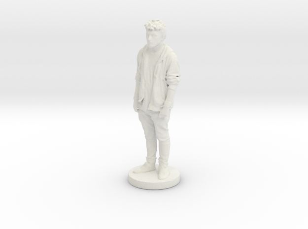 Printle C Homme 256 - 1/24 in White Natural Versatile Plastic