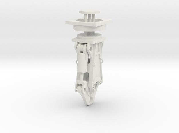 concrete cracker 1:32 in White Natural Versatile Plastic