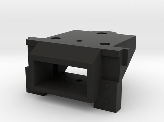 Lionel O Scale EMD GP7 & GP9 Coupler Mount (Open) in Black Natural Versatile Plastic
