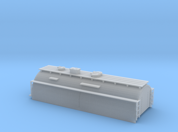 N-Scale Whaleback Tender Shell for Bachmann 4-6-0 in Smoothest Fine Detail Plastic
