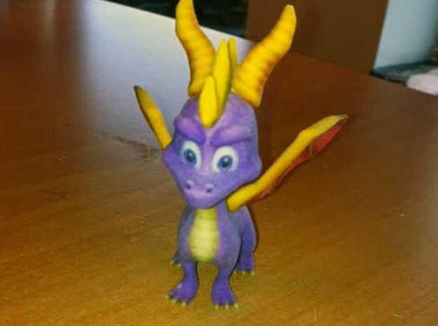 Spyro the Dragon - A hero's tail in Full Color Sandstone