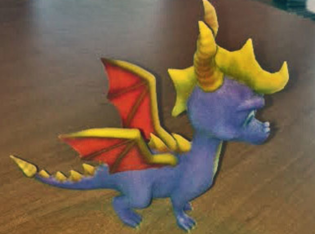 Spyro the Dragon - A hero's tail 3d printed