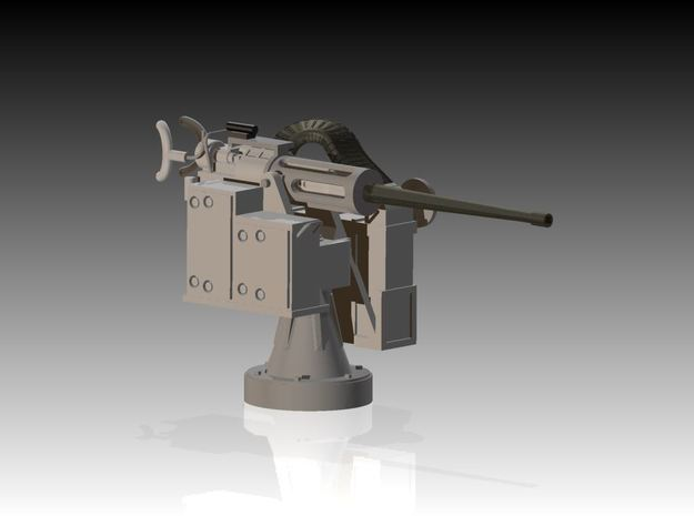 25mm Cannon kit x 1 - 1/96 3d printed 25mm Canon