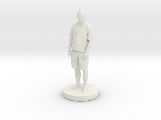 Printle C Homme 086 - 1/24 in White Natural Versatile Plastic