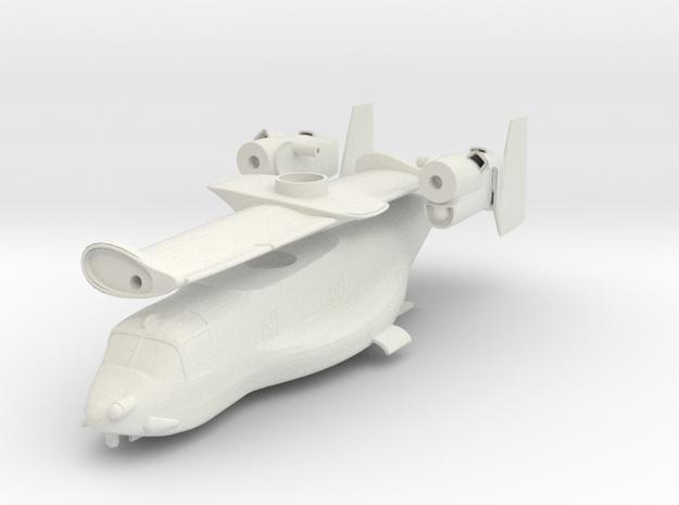 1/96 scale V-22 Osprey - Body only in White Natural Versatile Plastic