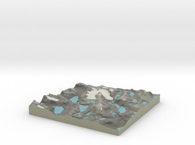 Terrafab generated model Sat Nov 26 2016 22:28:35  in Full Color Sandstone