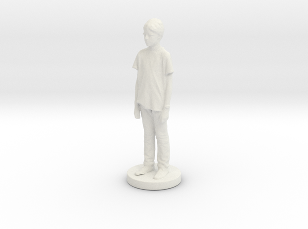 Printle C Kid 013 - 1/24 in White Natural Versatile Plastic