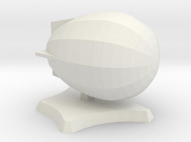 Bad Egg airship in White Natural Versatile Plastic