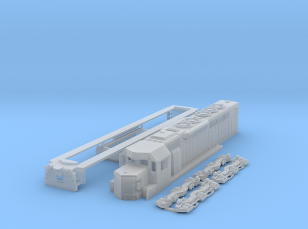 N Scale SDP40 in Smooth Fine Detail Plastic