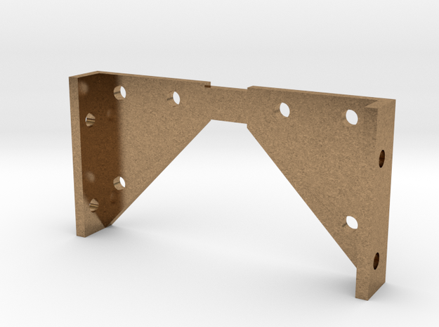 Mogul - Pilot Beam Bracket .625 Plus 1% in Natural Brass