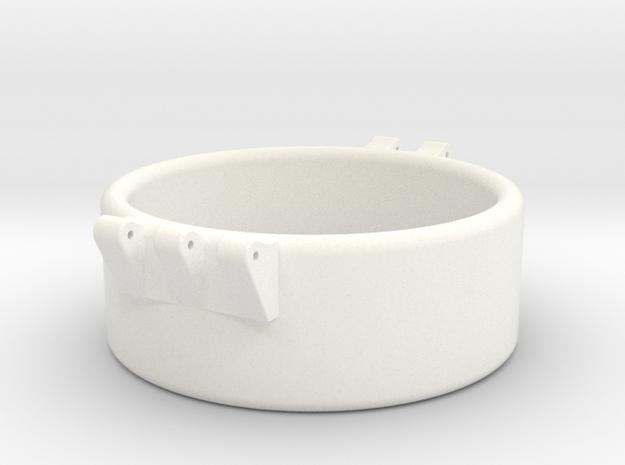 Ccage 46-20 in White Processed Versatile Plastic