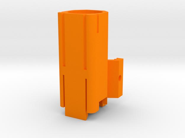 Helio M726-A (Full Length) in Orange Processed Versatile Plastic