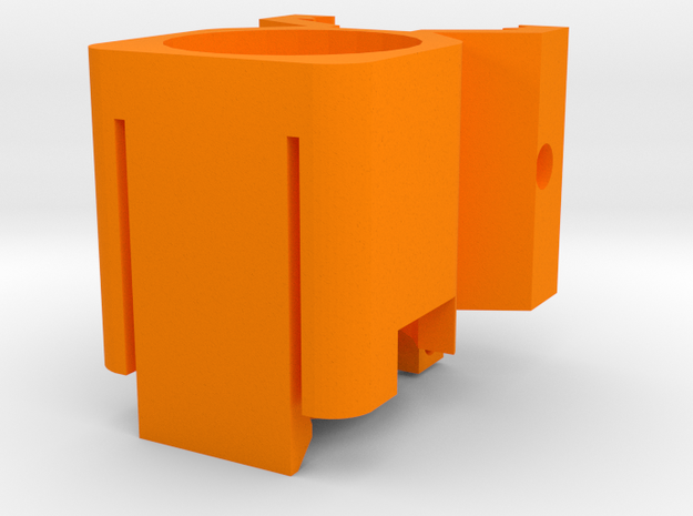 Helio M726-A (Short) in Orange Processed Versatile Plastic