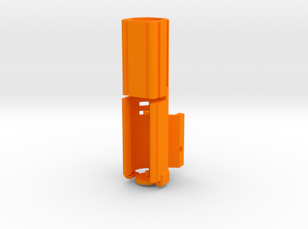 Helio M727-G (Long) in Orange Processed Versatile Plastic