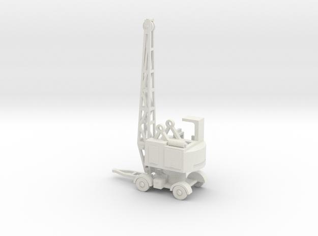 1/100 Coles EMA Kran Coles Maintenance crane RAF W in White Natural Versatile Plastic