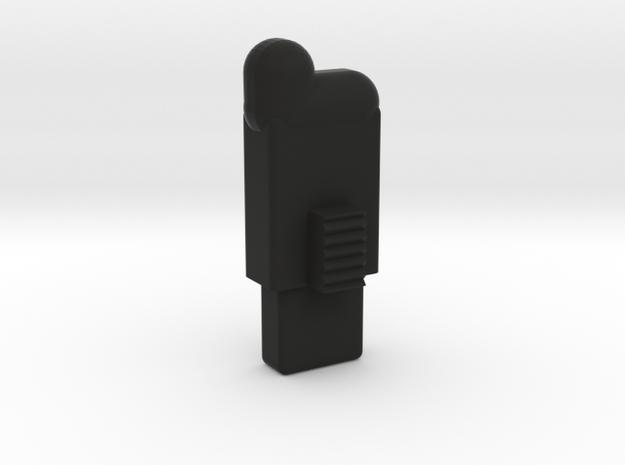 Swiss Arms Uzi -bb Folower in Black Natural Versatile Plastic