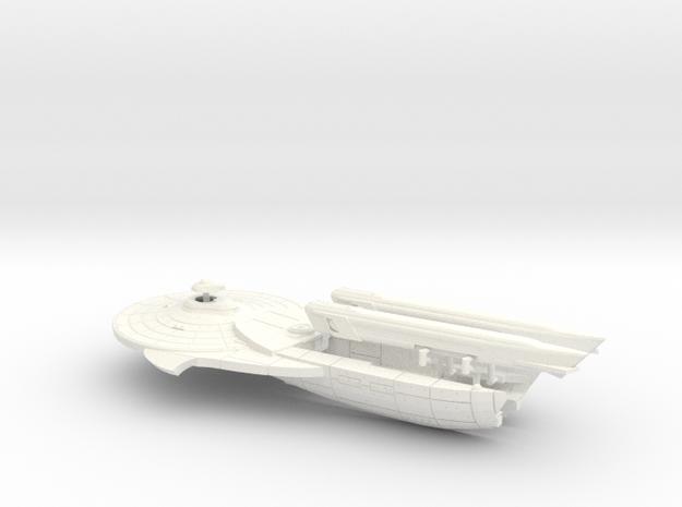 1400 Scale Halleck in White Processed Versatile Plastic