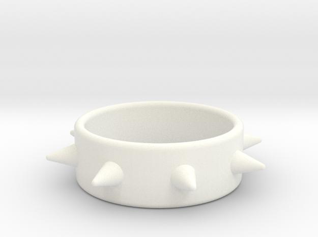 Cring-8 Spike 49-20 in White Processed Versatile Plastic