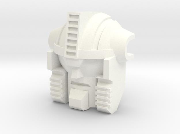 Bovis replacement head OS Feral Rex Predaking in White Processed Versatile Plastic