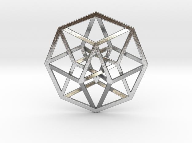 "Tesseract Pendant 1"""