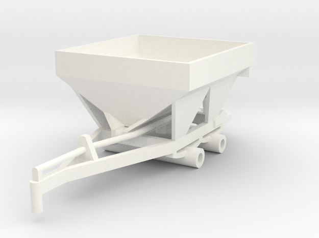 Fertilizer Spreader 5 Ton in White Processed Versatile Plastic