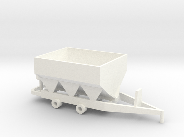 Fertilizer Spreader 8 Ton in White Processed Versatile Plastic