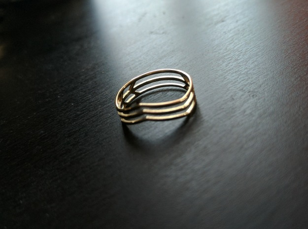 Chevrons Ring