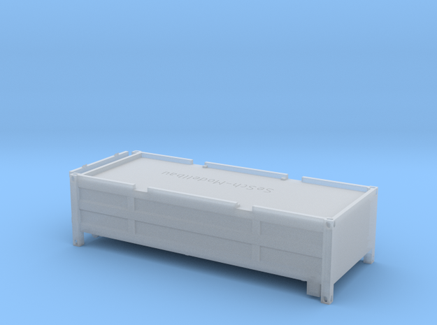"20 ft ""Half Height"" Container mit klappbarem Decke in Smooth Fine Detail Plastic"
