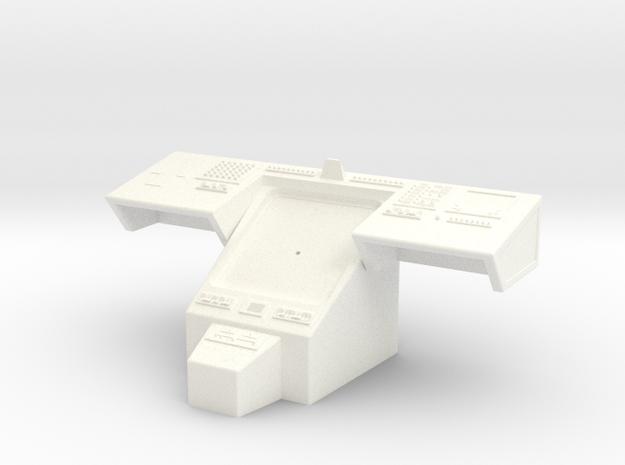 Bridge - Helm Nav Station 10 in White Processed Versatile Plastic