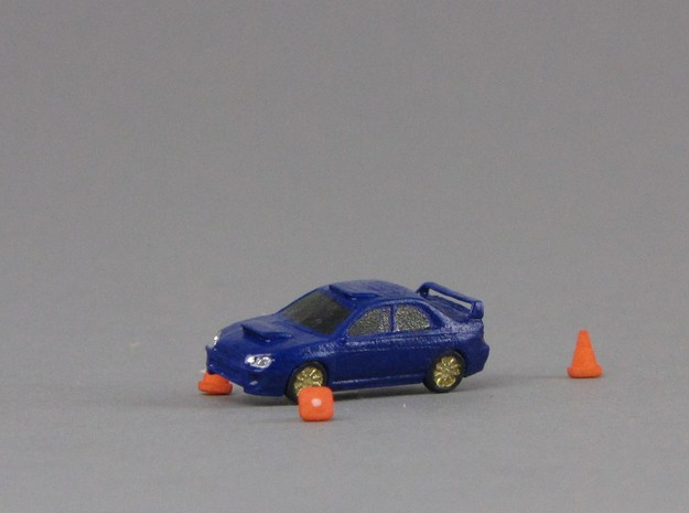 1:160 Spur N scale traffic cone Leitkegel Pylone in Smooth Fine Detail Plastic
