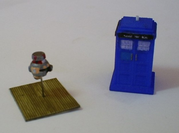 V.I.N.Cent-E 1-87 Scale 3d printed Starvihawk says ; V.I.N.Cent wants to meet the Doctor.