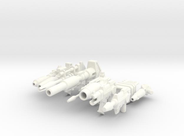 TF Guns Set-01 (9 Blasters) 3d printed