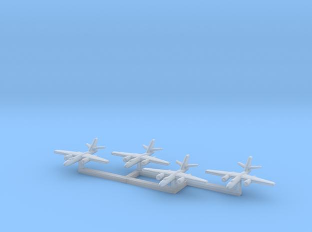 1/1200 Ilyushin IL-28 Beagle x4 3d printed