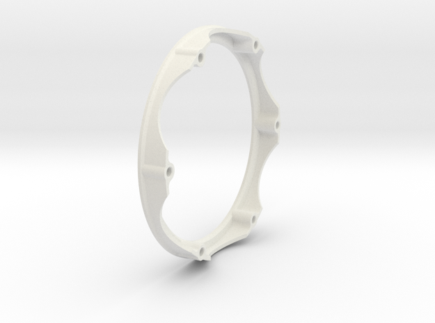 Center Ring for 2015 Disc in White Natural Versatile Plastic