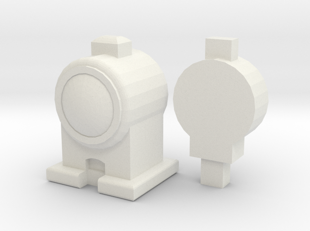 CGI LAMPS 00/HO Scale (Pair) in White Strong & Flexible