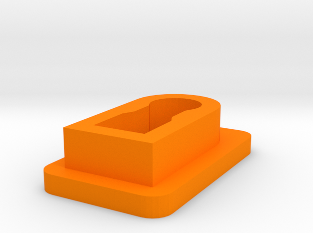 Hammerli 208 MAgazine loading device in Orange Processed Versatile Plastic
