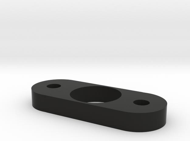 Fidget spinner in Black Natural Versatile Plastic