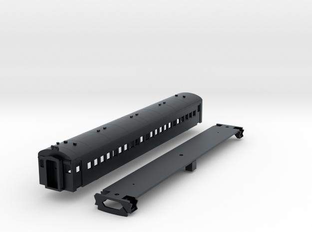 N Scale CN CCF MU Trailer Car Body Kit in Black Hi-Def Acrylate