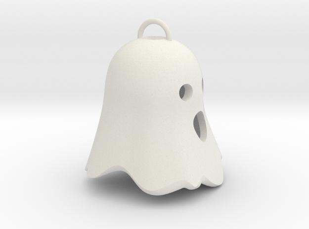 Little Ghostie pendant 3 in White Natural Versatile Plastic