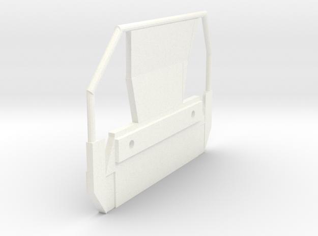 Ee923 Ee922 Geländer Stirnseite Sbb Scale TT in White Processed Versatile Plastic