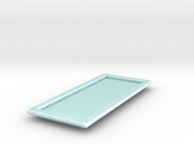 Celadon Selfie Sushi Platter 1 in Gloss Celadon Green Porcelain