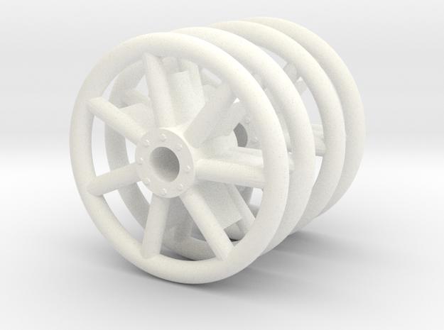 Panzer IV Tubular Idler Wheels x2 - 1:18 - v1.1 3d printed