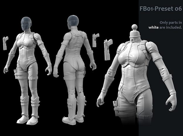 FB01-Preset-06 7inch 3d printed