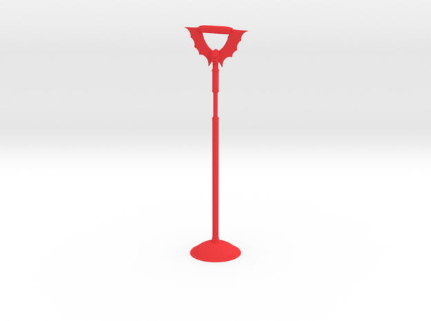 Tall Horde Bird perch in Red Processed Versatile Plastic