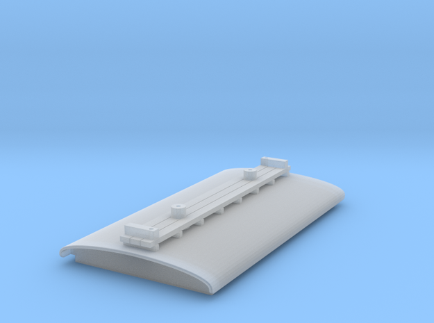 Trolley Pole Roof for N Scale B-W Steeplecab in Smooth Fine Detail Plastic