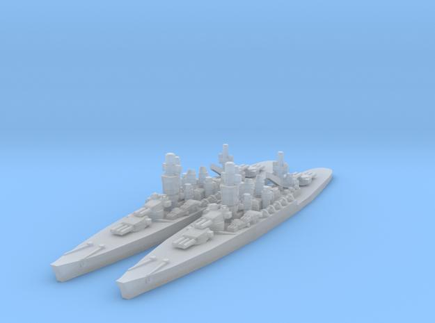 Andrea Doria Battleship in Smooth Fine Detail Plastic