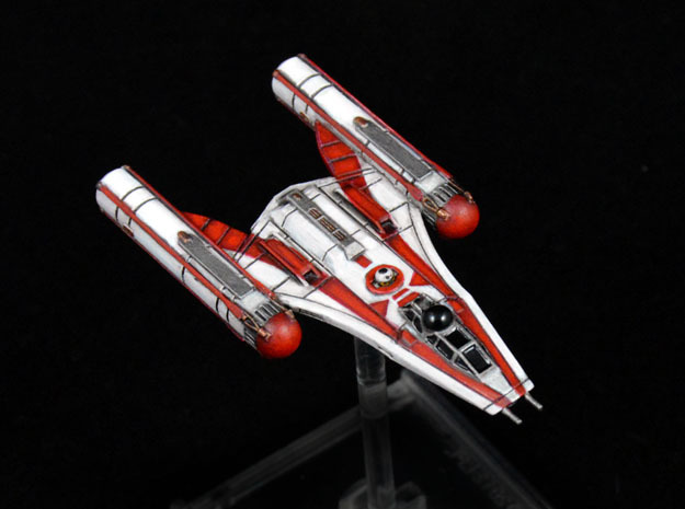 R2 Clone Wars Y-wing variant 1/270 in Frosted Extreme Detail