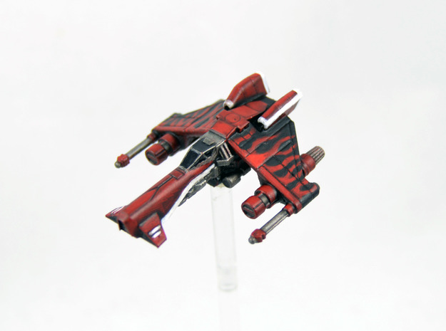 Vaksai Starfighter Variant 1AB 1/270 in Smoothest Fine Detail Plastic
